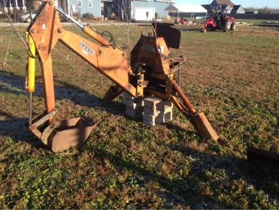 Woods 750 Three-Point Hitch Backhoe