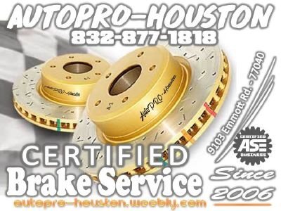 Brake Repair Shop | Houston Harris County TX | Mobile Mechanics