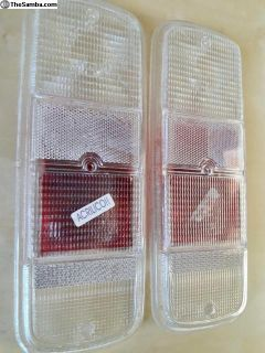 bus 72-79 tail light tailight lenses Clear