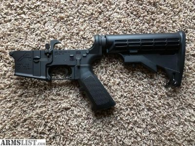 For Sale: Complete AR-15 Lower with Stock