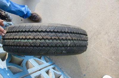 Bridgestone 205/60R17.5 V-STEEL R265 Commercial Truck Trailer Tire