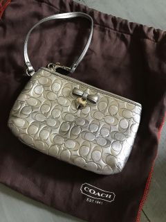 Free with any purchase NEW Coach Wristlet