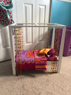 American Girl Julie canopy bed