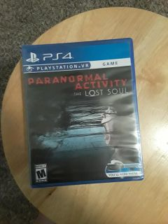 Paranormal activity ps4 vr game