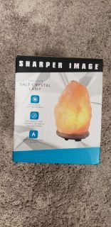 Brand New Sharper Image Salt Lamp
