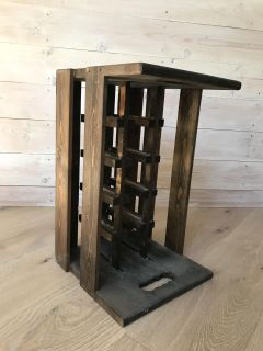 Crate for wine bottles