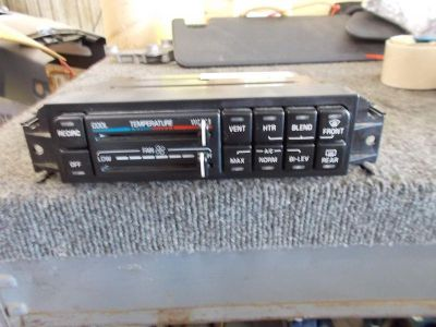 Buy BUICK LESABRE Heat/AC Controller manual control (opt C67) 00 01 02 03 04 05 motorcycle in Eagle River, Wisconsin, US, for US $35.00