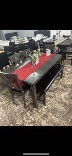Dark Grey wooden table