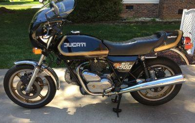 1980 Ducati DARMAH 900