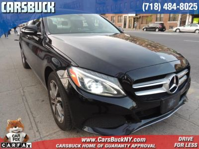2015 Mercedes-Benz C-Class 4dr Sdn C300 Luxury 4MATIC (Black)