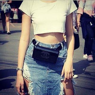 Chanel waistbag + clutch