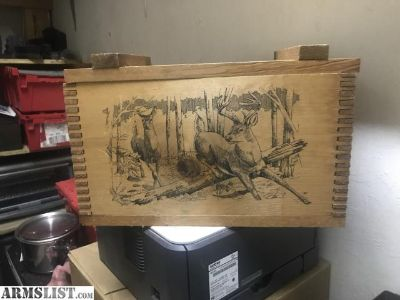 For Sale: Wooden box
