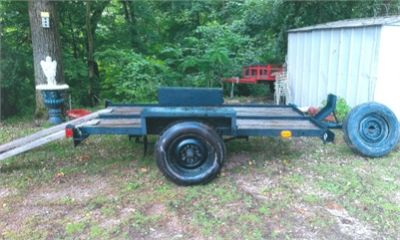 Homemade Utility Trailer W/New Tires