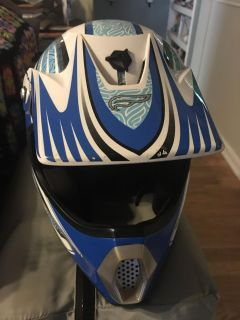 Fulmer C1 Air Channel Technoly helmet. Size Youth Large. County line and 725.