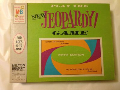1964, 5th Edition Jeopardy Game