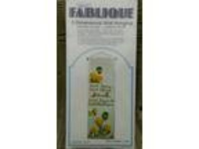 "Vintage Fablique 3-D Wall Hanging Kit New Sealed ""Dont"