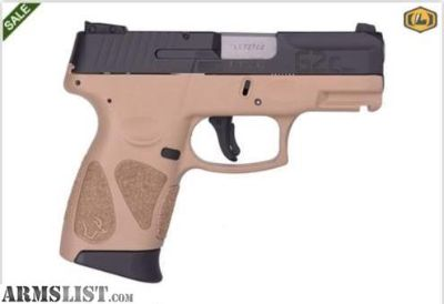For Sale: Taurus G2C FDE 9mm.