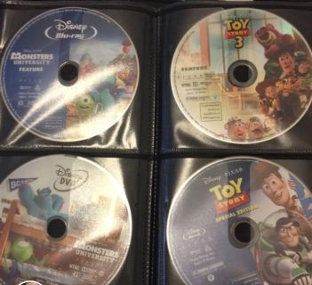 Family DVD/BluRay Movie Collection 80+ Titles