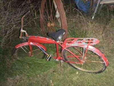 $100 Old Bicycle (Moulton)