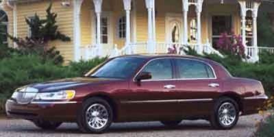2001 Lincoln Town Car Cartier (Silver Frost Clearcoat Metalli)