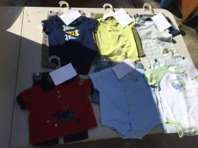 6 outfits for boys 6 months