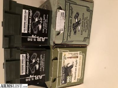 For Sale: 5.56 Ammunition