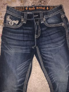 Men s Rock Revival jeans