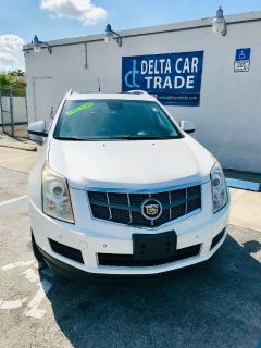 2010 Cadillac SRX Luxury Collection (White)