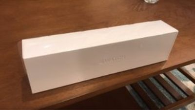 Apple Watch Series 4 44mm Silver Aluminum Case White Sports Band