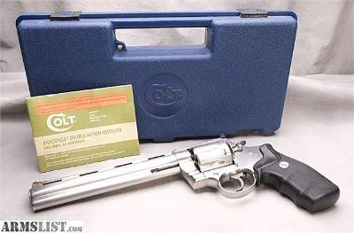 For Sale: Colt Anaconda 44 MAG