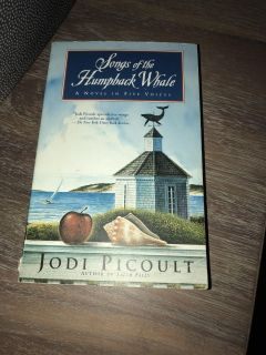 Jodi Picoult songs of humpback whale