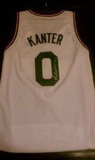 $200 Authentic Utah Jazz Enes Kanter Autographed Jersey & Free Display Case (Orem