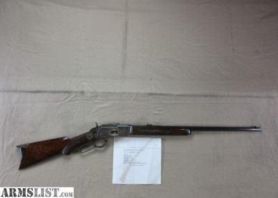 For Sale: Winchester Model 1873 38-40 WCF Deluxe Rifle 95% CODY VERIFIED