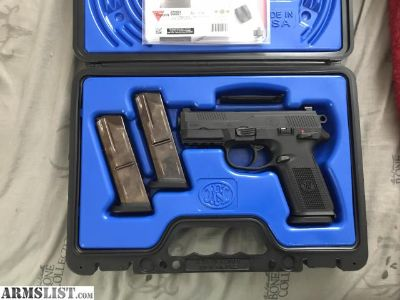 For Sale: FNH FNX 40 w/ 3 Mags Night Sites