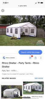 ISO party tent rental