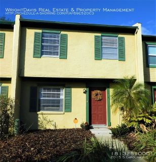 Adorable 2BD/2BA townhome located just blocks off famous Bayshore Blvd