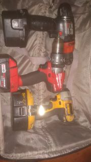 Hand drills no charger, batteries, Grinder corded