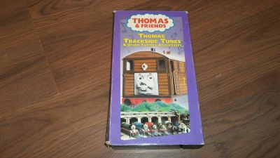 VHS Thomas the Train Trackside Tunes & Other adventures