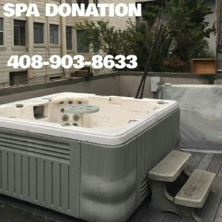 SPA DONATION / Hot tub Free removal / Professional Service (Bay Area)