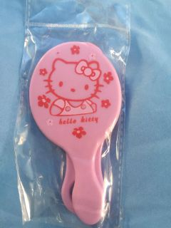 Hello kitty comb and mirror set