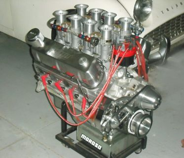 427 CI Small Block Ford Aluminum Engine