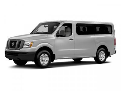 2013 Nissan NV Passenger 3500 HD S (Super Black)