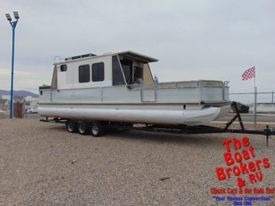 1994 TRACKER PARTY CRUISER 32′ TRIPLE TUBE PONTOON BOAT