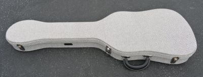 Fender TELECASTER THERMOMETER CASE - Black Tweed W/ Black Poodle Interior - BRAND NEW