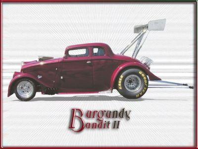 33 Willys Gasser-Burgandy Bandit