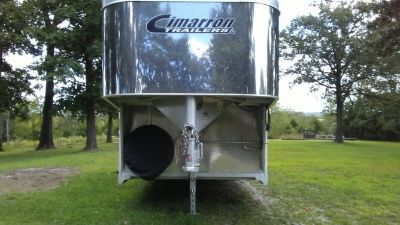 Stock trailer aluminum 8 wide 8 tall 24 long