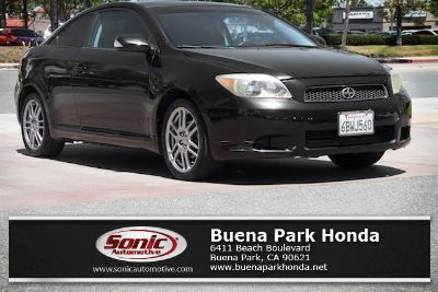 2007 Scion tC Base (Black Sand Pearl)