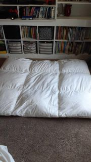 Northern feather Canada feather pillow topper
