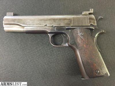 For Sale/Trade: 1918 Colt