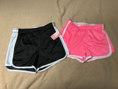 Size 10 Justice shorts, new